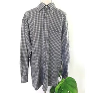 Ermenegildo Zegna Checked Plaid Button-Down Shirt